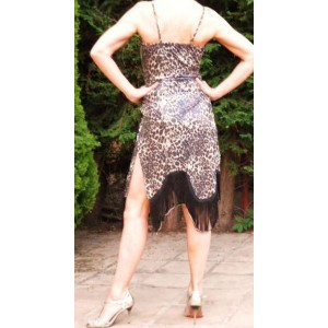 Vestido profesional tango Leopardo
